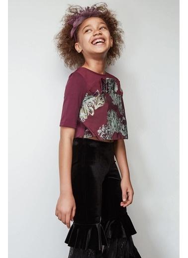 Lia Lea Kız Çocuk Mor Bluz Mor